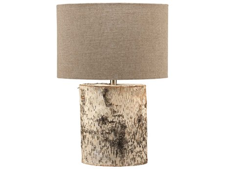 Jamie Young Company Forrester Birch Veneer Buffet Lamp JYC9FORRBIOV255