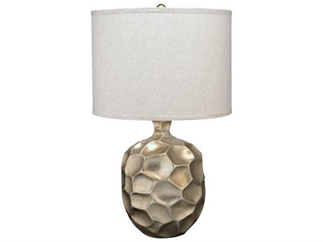 Jamie Young Company Fossil Champagne Leaf Buffet Lamp JYC9FOSSILTLCH