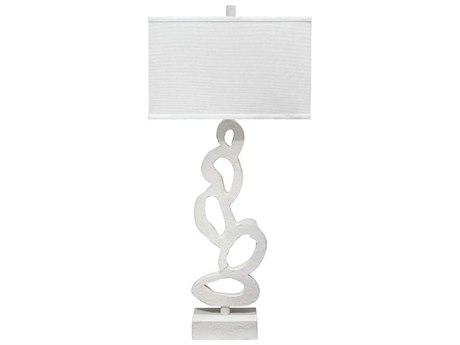 Jamie Young Company Ivy White Plaster Buffet Lamp JYC9IVYTLWHITE