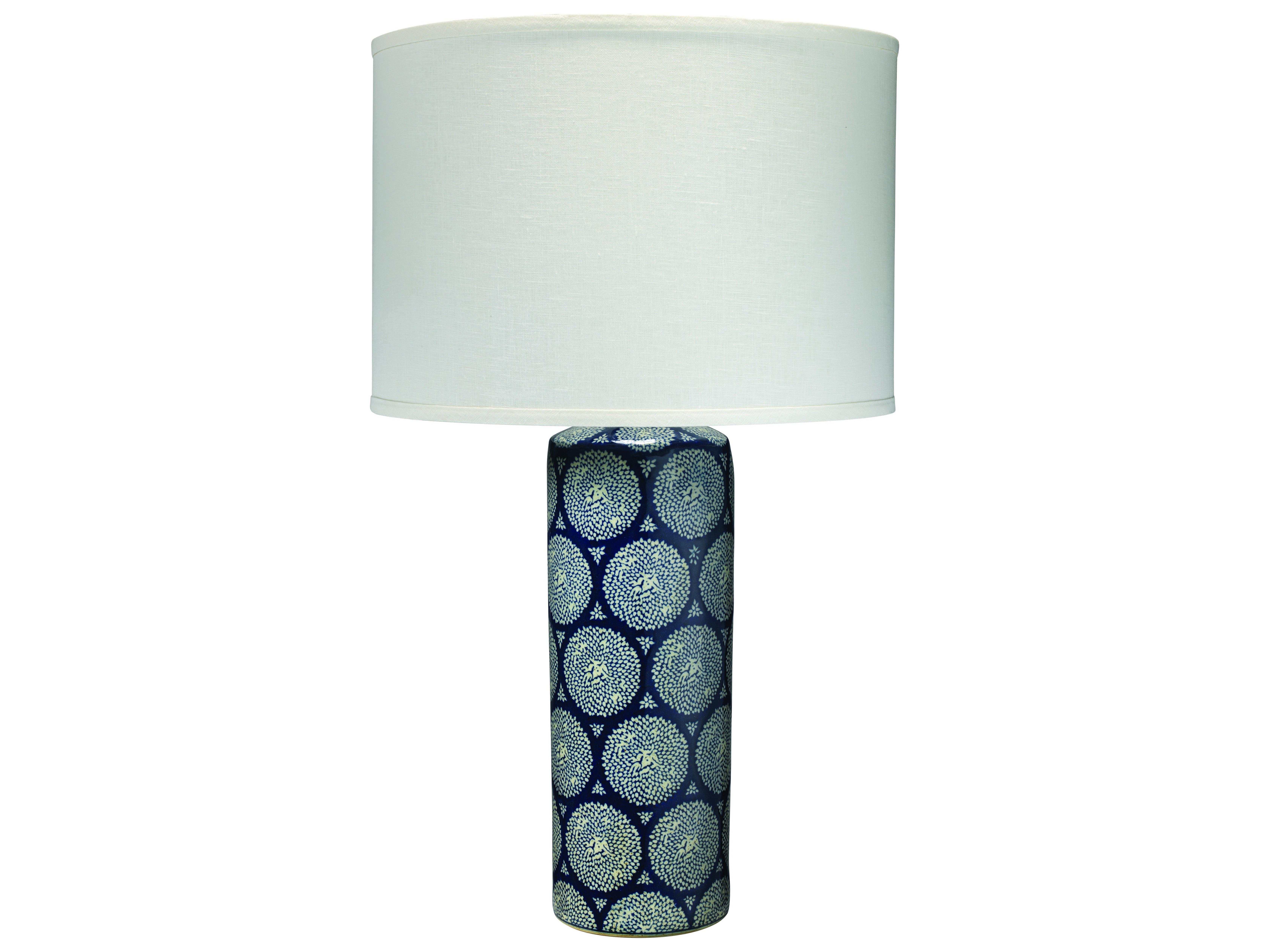 Jamie Young Company Neva Blue White Table Lamp