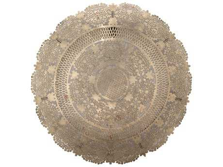 Jamie Young Company Penelope Antique Silver Metal Wall Art