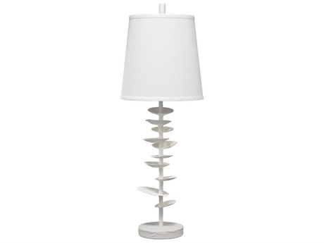 Jamie Young Company Petals White Plaster Buffet Lamp JYC9PETALSTLWH