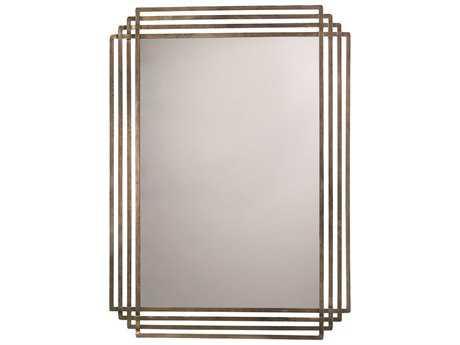 Howard Elliott Krystal 53 X 83 Modern Silver Wall Mirror
