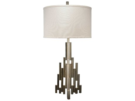 Jamie Young Company Skyscraper Champagne Leaf Buffet Lamp JYC9SKYSCRATLCH