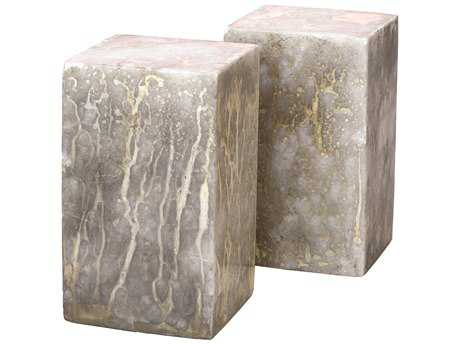 Jamie Young Company Orion Silver & Gold Slab Bookends (Set  of 2)