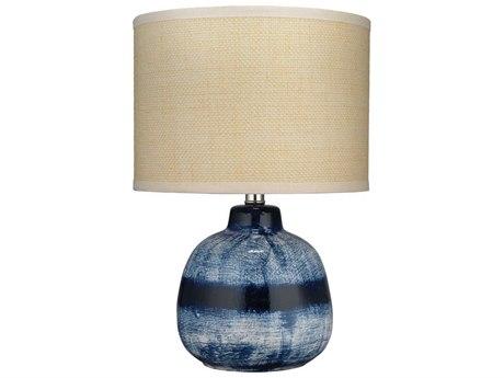 Jamie Young Company Indigo Table Lamp JYC9BATIKSMTLIN