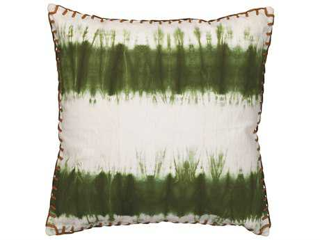 Jamie Young Company Tie Dye Olive Pillow JYCPILL20TIEOL