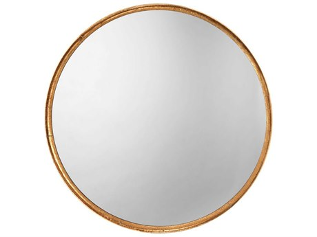 Jamie Young Company Gold Leaf Wall Mirror