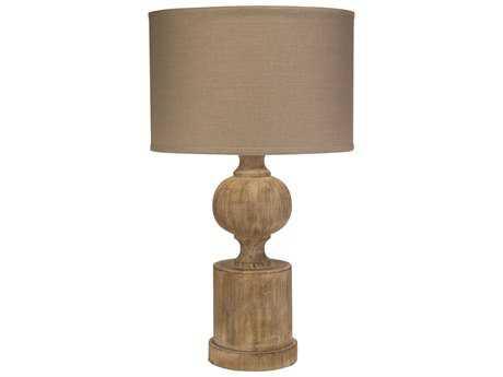 Jamie Young Company Windward Natural Wood Table Lamp JYC9WINWNAD255M