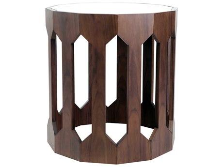 JKM Home Felipe 24'' Wide Drum Table JKMNN0083F
