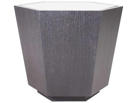 JKM Home Gabriel 22'' Wide Hexagon Drum Table JKMNN0069F