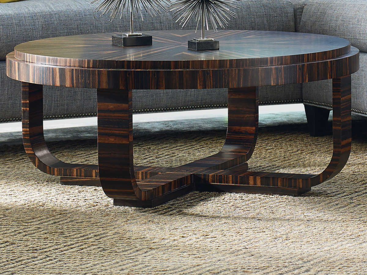 Jkm Home Lorenzo 44 Wide Oval Coffee Table