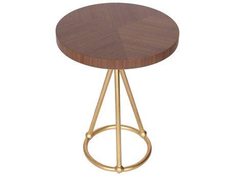 JKM Home Orson 18'' Wide Round Pedestal Table