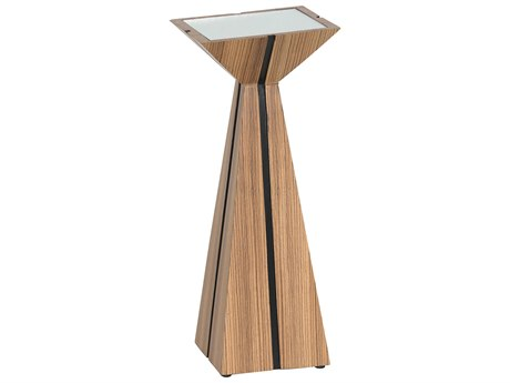 JKM Home Theo 10'' Wide Square Pedestal Table JKMNN0029F