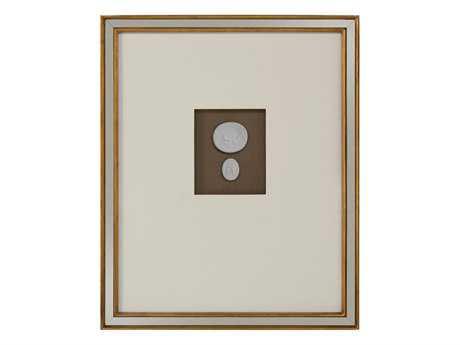 John Richard Mahogany Intaglio I Painting JRGBG0982A