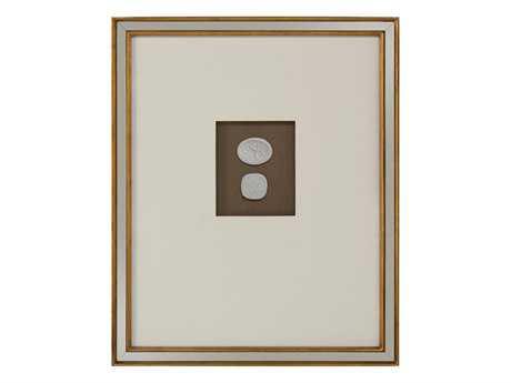 John Richard Mahogany Intaglio IV  Painting JRGBG0982D