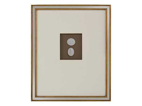 John Richard Mahogany Intaglio V Painting JRGBG0982E