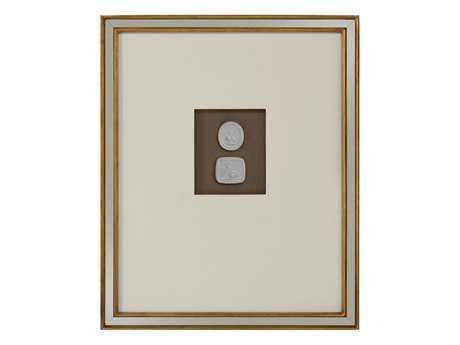 John Richard Mahogany Intaglio VII Painting JRGBG0982G