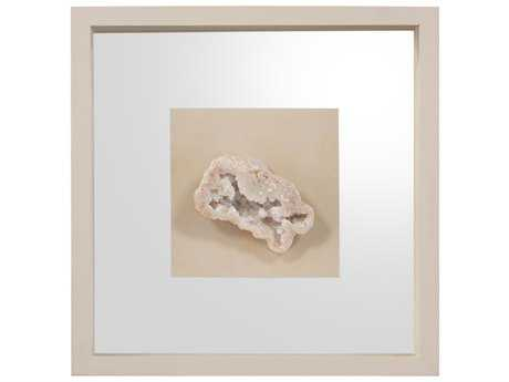 John Richard Geodes White III Shadow Box JRGBG1229C