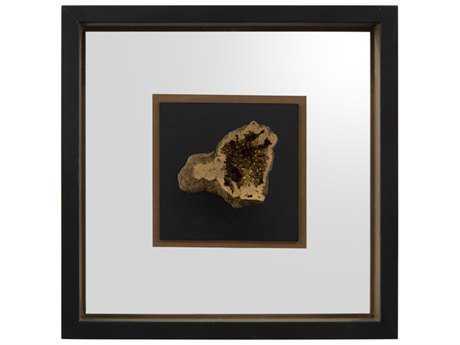 John Richard Geodes Gold IV Shadow Box JRGBG1234D