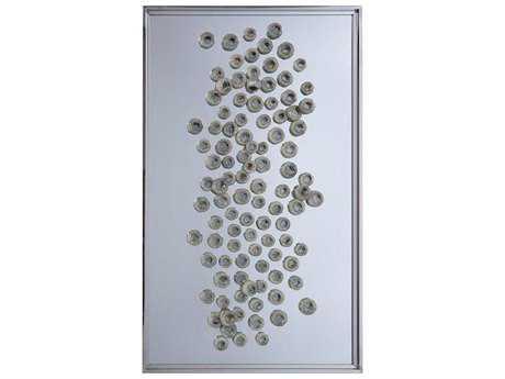 John Richard Floating Pods II 3D Glass Wall Art JRGBG1289