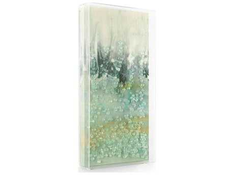 John Richard Mary Hong's Wavebreak I Painting with Glass JRGBG1362A