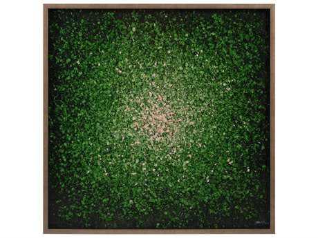 John Richard Ruanwei's Green Composition Wood Wall Art JRJRO2783