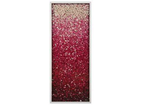 John Richard Ruanwei's Upward Red Wood Wall Art JRJRO2813
