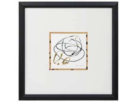 John Richard Abstract Loops & Loops III Wall Painting JRGBG1090C
