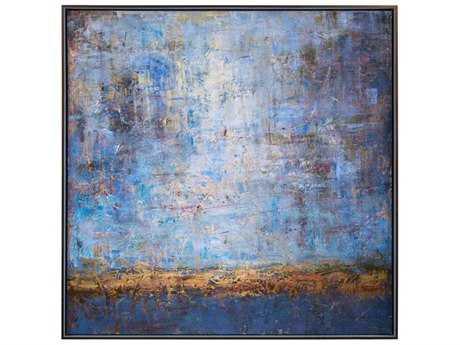 John Richard Guavo's Blue Horizon Painting JRGBG1299