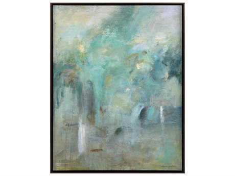 John Richard Gunter's Garden Of Serenity Painting