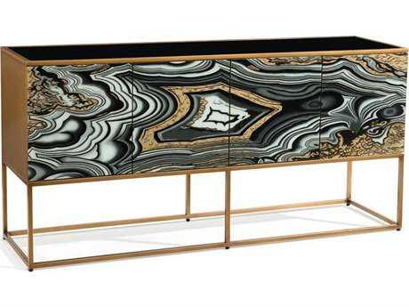 John Richard Aztec Gold 72'' x 18'' Buffet Table JREUR040401