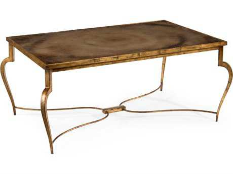 John Richard Accent Tables 50'' Wide Rectangular Coffee Table