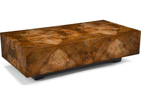 John Richard Chelsea 30 x 60 Squared Cocktail Rectangular Coffee Table JREUR030505