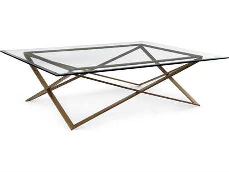 John Richard Accent Tables 60'' Wide Rectangular Coffee Table