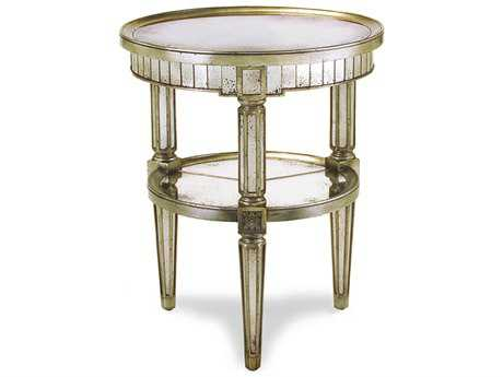 John Richard Accent Tables Round End Table
