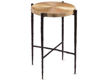 John Richard Accent Tables 15'' Wide Round End Table