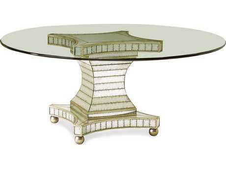 John Richard Accent Tables Round Dining Table