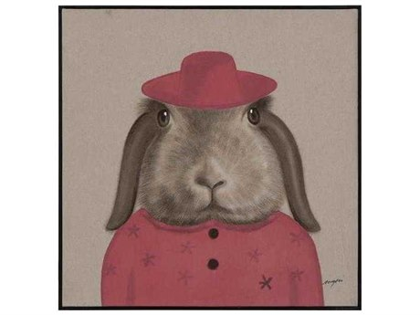 John Richard Teng Fei's Rose Hare Painting JRJRO2900A