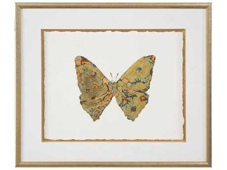 John Richard Shimmering Butterfly V Wall Art JRGBG1291E
