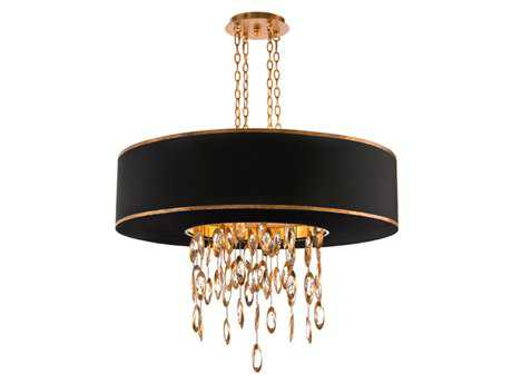 John Richard Black Tie With Gold 11-Light 36'' Wide Chandelier JRAJC8794