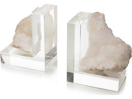 John Richard Crystal Left Bookend JRJRA10011