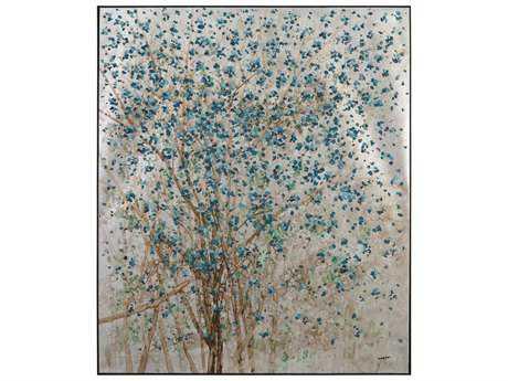 John Richard Teng Fei's Silvered Dogwood Painting