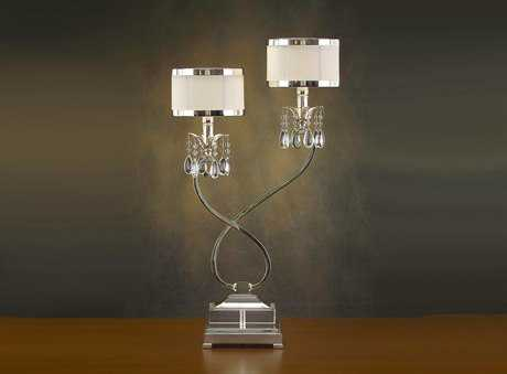 John Richard Two Light Curly Table Lamp JRAJL0318