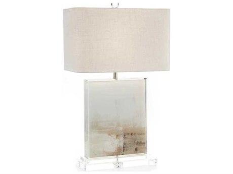 John Richard Dune White Buffet / Table Lamp JRJRL9634