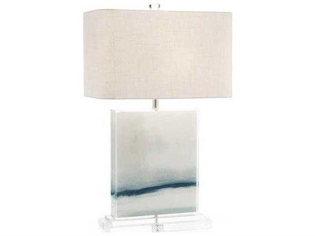 John Richard Enigma White Buffet / Table Lamp JRJRL9636