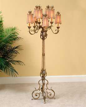 John Richard Lamps Venetian Industrial Floor Lamp