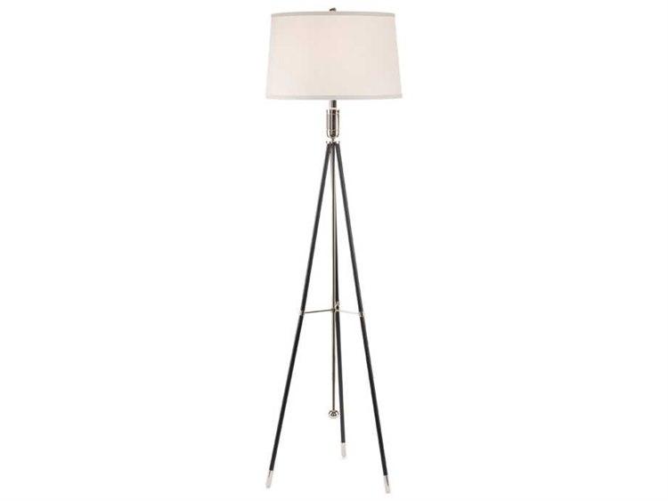 John Richard Ebony Nickel Tripod Floor Lamp Jrjrl9240