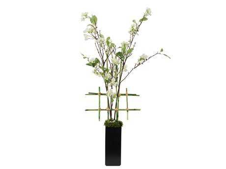 John Richard Asian Pear Blossom Floral Arrangement in Vase JRJRB3237