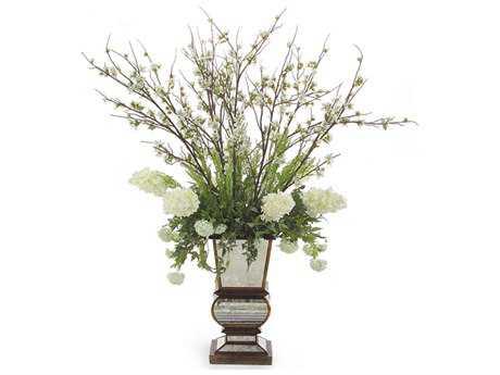 John Richard Mirrored Elegance Floral Arrangement in Vase JRJRB2774